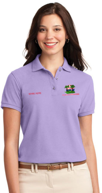 Polo Shirt Embroidered With Sport Logo Beggin 4 Fun