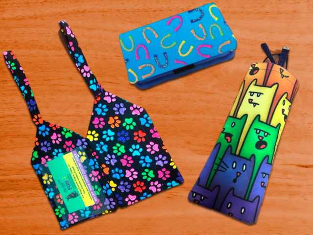 Combo Pack Choose 2 Homemade Items Luggage Tags
